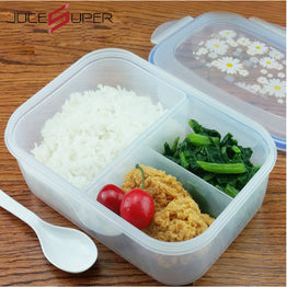 High Capacity PP Bento Lunch Box or Food Container