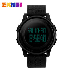 New SKMEI Ultrathin Waterproof Casual Outdoor Unisex Sports Watch