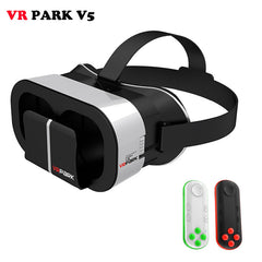 Mobile Glasses Reality 3D Google BOX Headset Phone+Bluetooth Remote