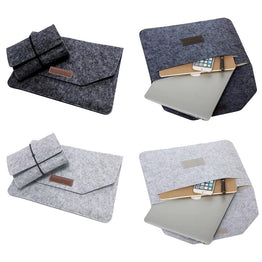 Soft Sleeve Bag Case For Apple Macbook Air Pro Retina 11 12 13 15