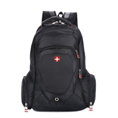 "Rucksack Man Travel Computer Sports Bag Swiss 14"" 15 inch"