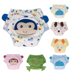 4Layers Training Washable Reusable Diaper Pants Infants Nappies
