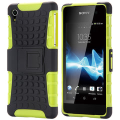 Sony Heavy Duty Plastic Armor Hard Cover Case For Sony Xperia
