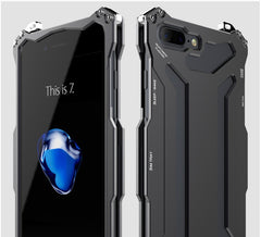 R-JUST For iPhone 7 Plus Case Space Aluminum Armor Cases