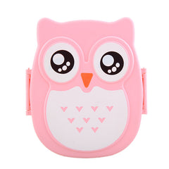 900ML PP Cute Owl Lunch Box Container