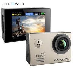 DBPOWER EX5000 WIFI 14MP Sports Action Camera 1080p 30fps waterproof Cam