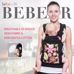 Ergonomic 360 Breathable 3D Mesh Fabric Baby Carrier
