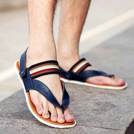 Summer Flip Flops Casual Flats Sandals for Men