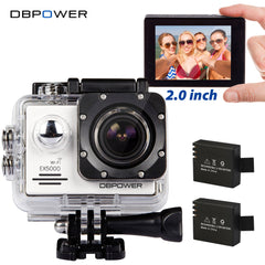 DBPOWER EX5000 WIFI Series Action Camera Waterproof 1080P 30fps