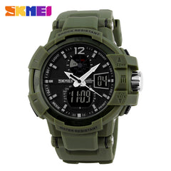 SKMEI Fashion Men Military LED Sports Watch Digital Quartz  Waterproof