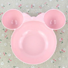 Melamine Tableware Creative Dish Snack Plate Cartoon Mickey Minnie Shape Plate