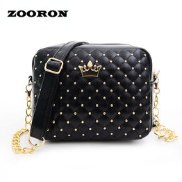 Fashion women bag five color madame chain shoulder tide rivet small shoulder bag