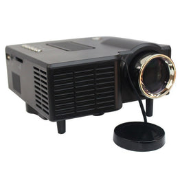 "Full HD 60"" Portable mini HD LED Projector Cinema Theater Home Video"