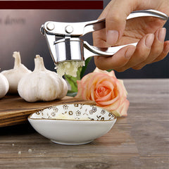 Zinc alloy garlic clip manually garlic press / Portable food grinder jam pressure control fruit salad