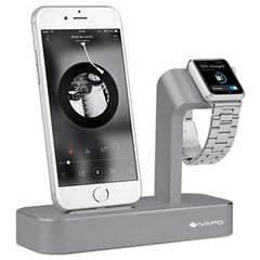Aluminum Charging Dock Watch Stand For iPhone 5s 6 6s 7 / Plus