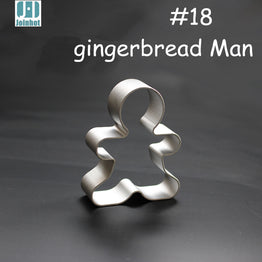 Ginger Bread Men aluminium Biscuit/Pastry for Cookies/Fruit/vegetable/toast cutter