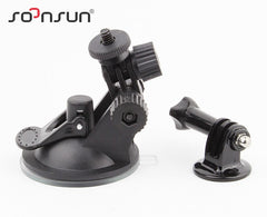 SOONSUN Car Suction Adapter Window Glass Tripod+7CM Diameter Base Mount