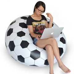 Inflatable Chair Sofa Soccar Football Bean Bag
