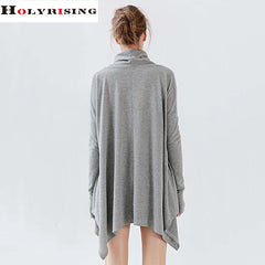 Women blusas t shirts tees bow neck fashion tops full sleeve spring and autumn wear