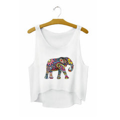 White Crop Tops Summer Sexy Short Tank Tops Fitness for Women