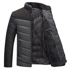 Winter warm Jacket for men hooded casual coat