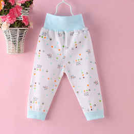 Flower Printed Cotton Baby Pants for Boys / Girls