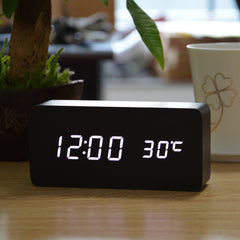 LED Alarm Clock Sounds Control LED display Digital table clocks