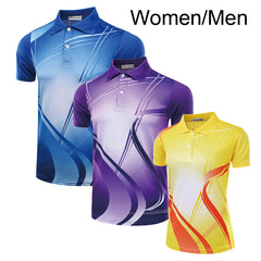 Badminton Men / Women , polo T shirt