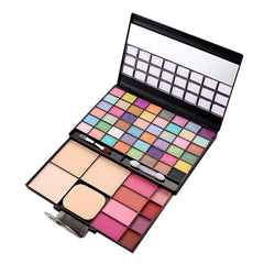 Makeup Palette Combination with eyeshadow lip gloss Blusher 5PCS Cosmetics Kit