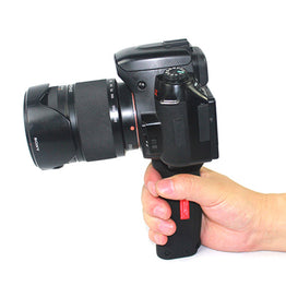 "Platform Pistol Rubber non-slip Grip Camera Handle Gripwith 1/4"" Screw  DSLR"