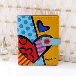 Brazil Style Cartoon Sweet Hasp Wallet for Women