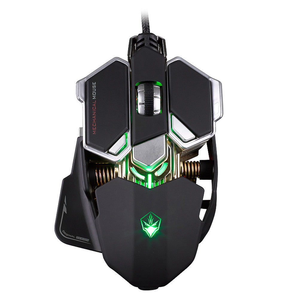 Wired Gaming Mouse 9 Buttons 4 Colors Light 4000 Adjustable DPI