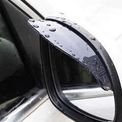 Universal Flexible Rear Mirror Guard Rain Shield/Shade car styling accessories