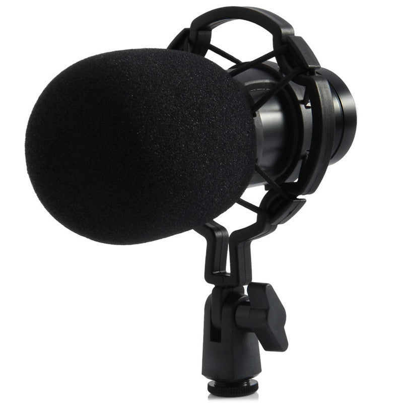 BM - 800 Condenser Sound Recording Microphone Low Noise with Shock Mount