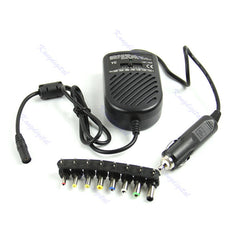 DC Universal 80W Car Auto Charger Power Supply Adapter Set For Laptop Notebook