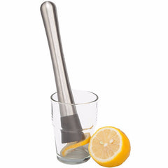 Stainless Steel Cocktail Muddler Bar Mixer Mojito Drink Fruit Crushed Ice Barware Tools