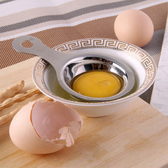 Stainless Steel Egg White Yolk Separator Filter Gadgets Kitchen Accessories Cooking Tools