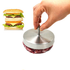 Stainless Steel Nonstick Burger Press Meat Crab Sandwich Maker Tool Patty Home Kitchen Gadge
