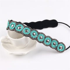 Fashion Bridal Headband Wedding Hair Accessories Women Formal Evening Ribbon Headbands