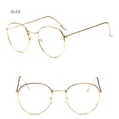 Oculos Vintage Eyewear Frame Myopia Glasses Clear Lens Men and Women Spectacle Frame