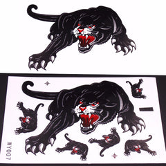 Cruiser and Car Hoods Trunk Whole Body Animal Ferocious Panther Decal Personalized Car Sticker