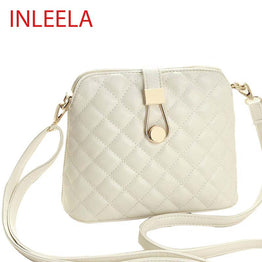 Small Autumn INLEELA Shell Bag Fashion Embroidery Shoulder Bag Women Messenger Bag