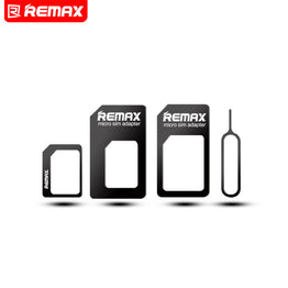 Remax 4 in 1 Mobile Phone Nano SIM Card  Adapter