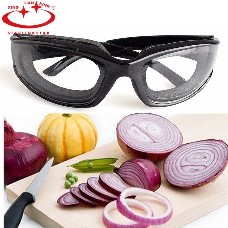 Onion Goggles Tear Free Slicing Cutting Chopping Mincing Eye Protect Glasses Gadgets