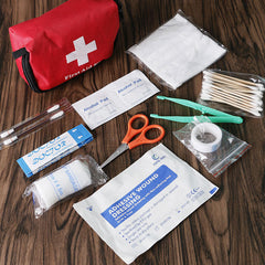 Family First Aid Kit Set Emergency Bag Case Travel Camping 11pcs