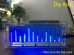 Single chip LED Audio Level Indicator DIY