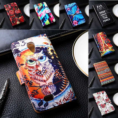 Fashionable Leather Phone Covers For Fly IQ4405/IQ4415/IQ4416/IQ4503/IQ4514