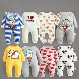 Cartoon Characters Design Baby Bodysuit Clothing