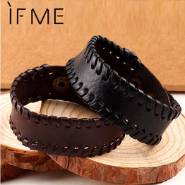 Braided Rope New Fashion Charm Leather Black/Brown Bracelet for Men