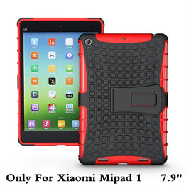 Shockproof Heavy Duty Rubber Hard Case Cover For Xiaomi Mipad 1 7.9""